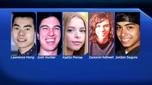 5 young people remembered on 5th anniversary of Calgary's worst mass killing